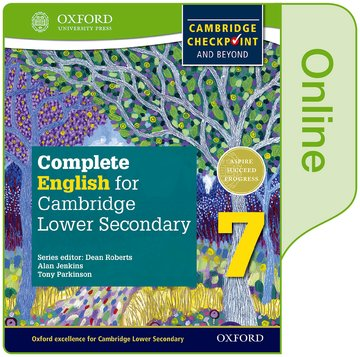 Complete English for Cambridge Lower Secondary Online Student Book 7