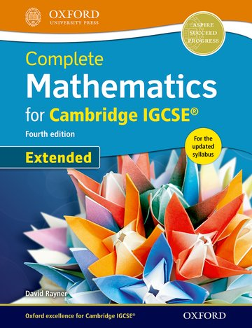 Complete Mathematics for  Cambridge IGCSE Student Book (Extended)