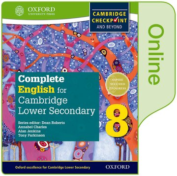 Complete English for Cambridge Lower Secondary Online Student Book 8 (First Edition)
