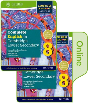 Complete English for Cambridge Lower Secondary Print and Online Student Book 8 (First Edition)