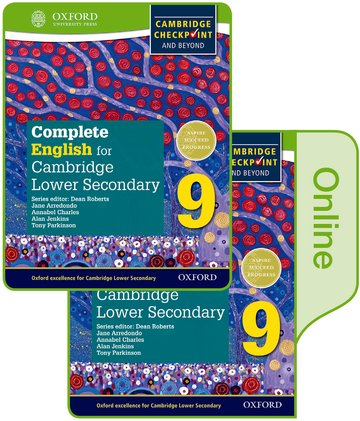 Complete English for Cambridge Lower Secondary Print and Online Student Book 9 (First Edition)