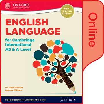 English Language for Cambridge International AS and A Level Online Student Book