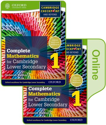 Complete Mathematics for Cambridge Lower Secondary Book 1