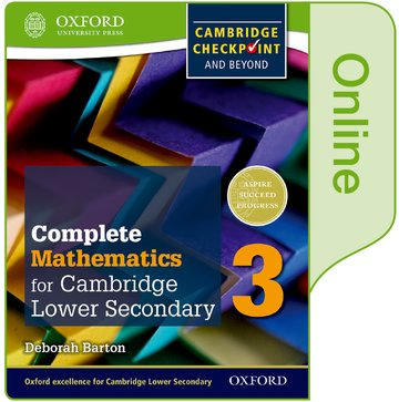 Complete Mathematics for Cambridge Lower Secondary Book 3