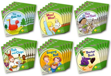 Oxford Reading Tree Songbirds Phonics: Level 2: Class Pack of 36