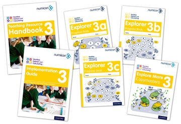 Numicon: Number, Pattern and Calculating 3 Easy Buy Pack