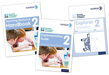 Numicon: Geometry, Measurement and Statistics 2 Easy Buy Pack