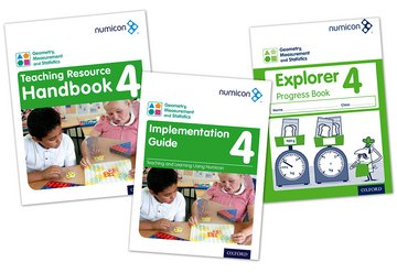 Numicon: Geometry, Measurement and Statistics 4 Easy Buy Pack
