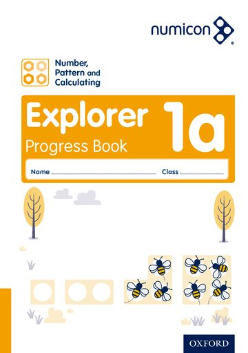 Numicon: Number, Pattern and Calculating 1 Explorer Progress Book A (Pack of 30)