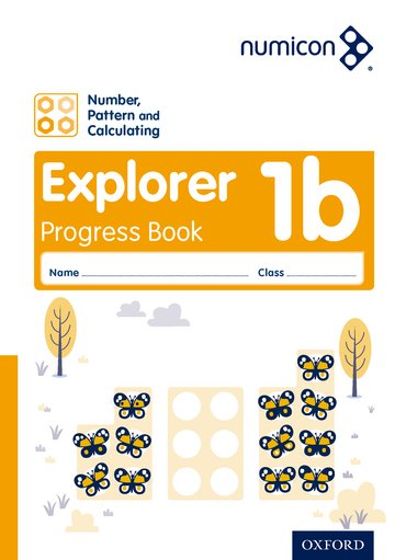 Numicon: Number, Pattern and Calculating 1 Explorer Progress Book B (Pack of 30)