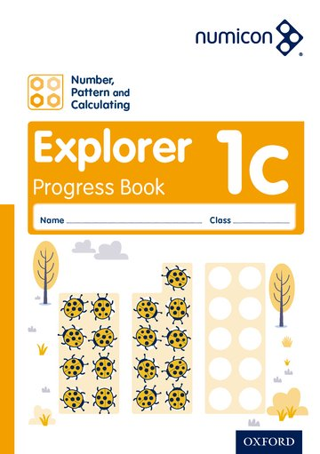 Numicon: Number, Pattern and Calculating 1 Explorer Progress Book C (Pack of 30)