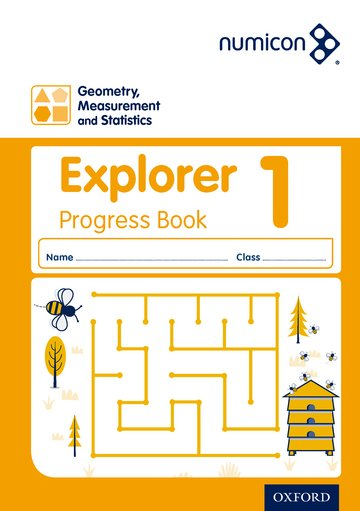 Numicon: Geometry, Measurement and Statistics 1 Explorer Progress Book (Pack of 30)