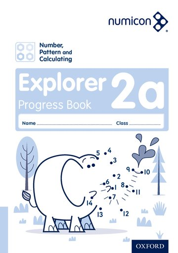 Numicon: Number, Pattern and Calculating 2 Explorer Progress Book A (Pack of 30)