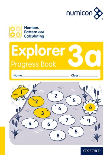Numicon: Number, Pattern and Calculating 3 Explorer Progress Book A (Pack of 30)
