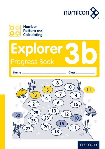 Numicon: Number, Pattern and Calculating 3 Explorer Progress Book B (Pack of 30)