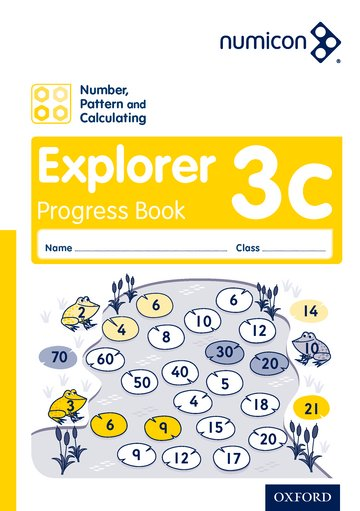 Numicon: Number, Pattern and Calculating 3 Explorer Progress Book C (Pack of 30)