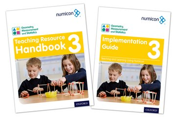 Numicon: Geometry, Measurement and Statistics 3 Teaching Pack