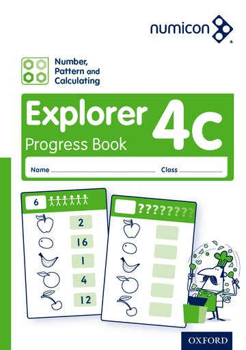 Numicon: Number, Pattern and Calculating 4 Explorer Progress Book C (Pack of 30)