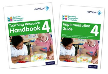 Numicon: Geometry, Measurement and Statistics 4 Teaching Pack
