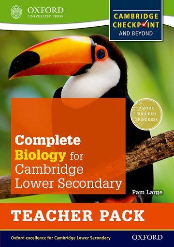 Complete Biology for Cambridge Lower Secondary Teacher Pack