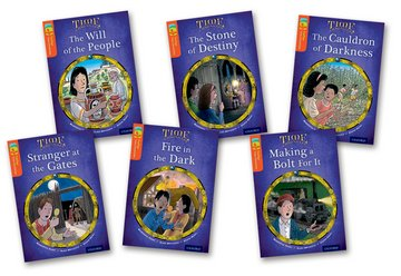 Oxford Reading Tree TreeTops Time Chronicles: Level 13: Pack of 6