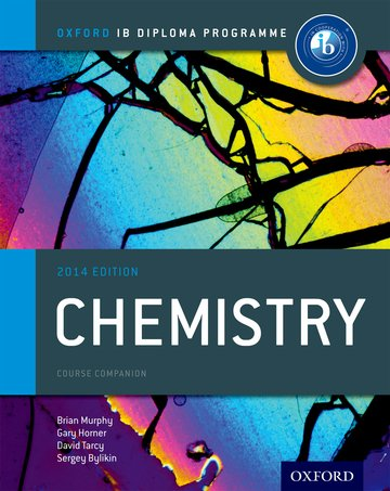Oxford Ib Diploma Programme Chemistry Course Companion Oxford