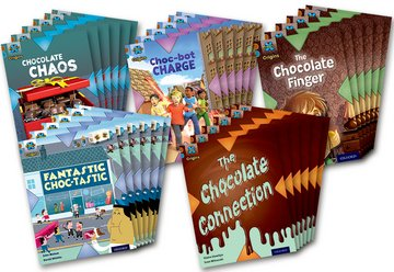 Project X Origins: Brown Book Band, Oxford Level 9: Chocolate: Class Pack of 30