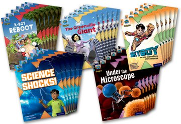 Project X Origins: Grey Book Band, Oxford Level 13: Shocking Science: Class Pack of 30