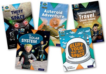Project X Origins: Dark Blue Book Band, Oxford Level 16: Space: Mixed Pack of 5