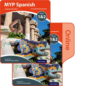 MYP Spanish Language Acquisition Phases 12 Print and Online Pack