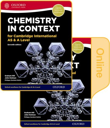 Chemistry in Context for Cambridge International AS  A Level Print  Online Student Book Pack