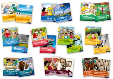 Oxford Reading Tree Explore with Biff, Chip and Kipper: Levels 1 to 9: Singles Pack
