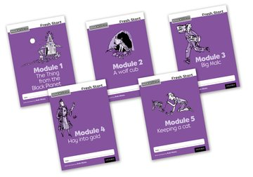 Read Write Inc. Fresh Start: Modules 1-5 - Mixed Pack of 5
