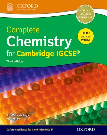 Complete Chemistry for Cambridge IGCSE®: Oxford University Press
