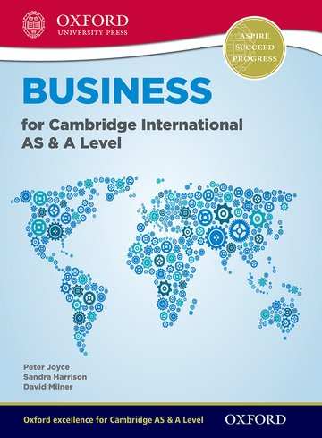 Business for Cambridge International AS  A Level