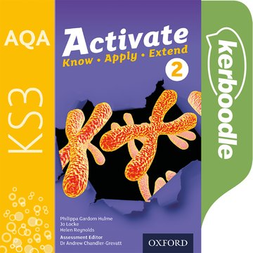 AQA Activate for KS3: Kerboodle Book 2