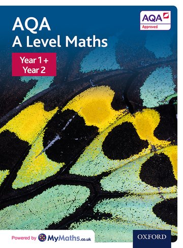 AQA A Level Maths: Year 1 and 2 Combined Student Book