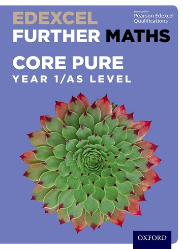 edexcel further maths core pure year 1 as level student book
