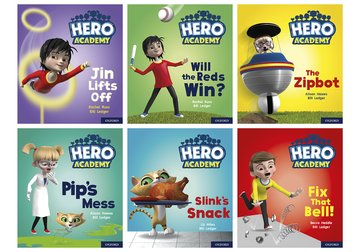Hero Academy: Oxford Level 2, Red Book Band: Mixed pack