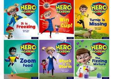Hero Academy: Oxford Level 3, Yellow Book Band: Class pack