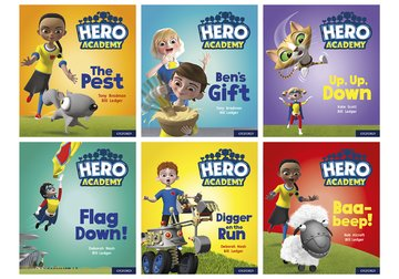 Hero Academy: Oxford Level 4, Light Blue Book Band: Mixed pack