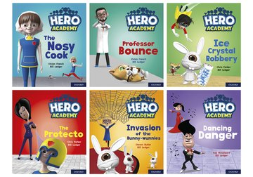 Hero Academy: Oxford Level 6, Orange Book Band: Mixed pack