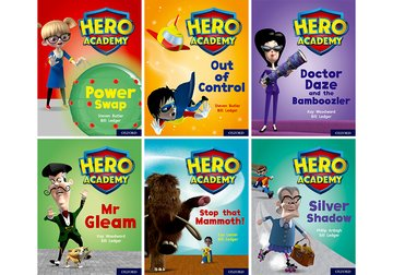 Hero Academy: Oxford Level 8, Purple Book Band: Class pack