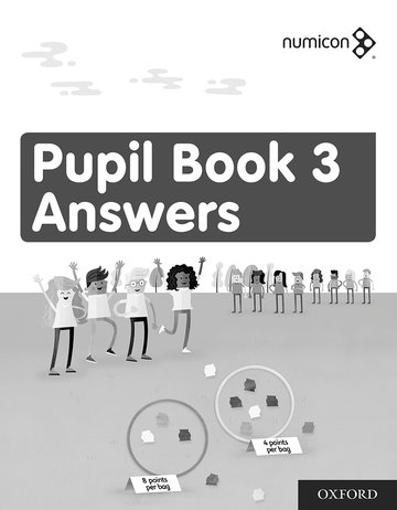 Numicon: Pupil Book 3: Answers