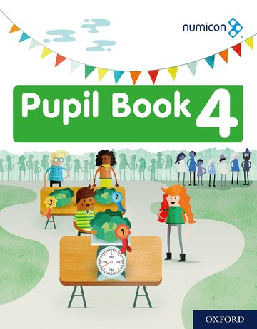 Numicon: Pupil Book 4: Pack of 15