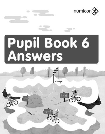 Numicon: Pupil Book 6: Answers