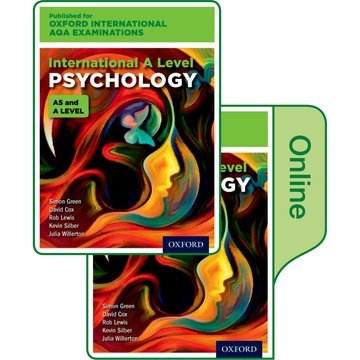 International A Level Psychology for Oxford International AQA Examinations: Print  Online Textbook Pack