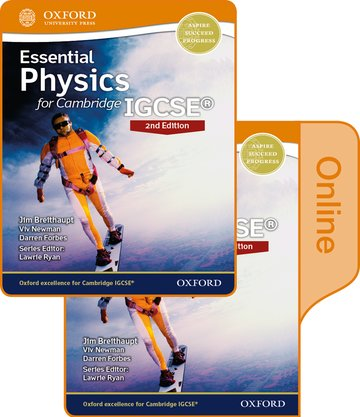 Essential Physics for Cambridge IGCSE Print and Online Student Book Pack