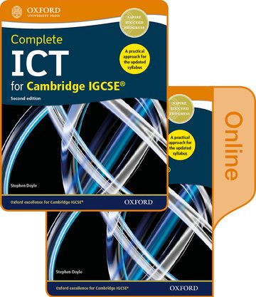 Complete ICT for Cambridge IGCSE Print and Online Student Book Pack (Second Edition)