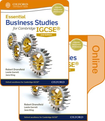 Essential Business Studies for Cambridge IGCSE Print and Online Student Book Pack